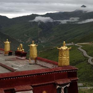 甘丹寺旅游景点攻略图