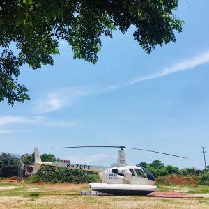 """""""涠洲岛空中游览""""直升机体验航线旅游景点攻略图"""