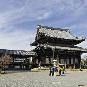 西本愿寺旅游景点攻略图