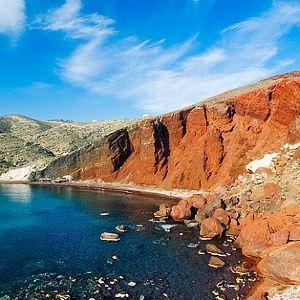 红沙滩旅游景点攻略图