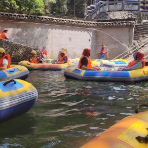 龙颈河漂流旅游景点攻略图