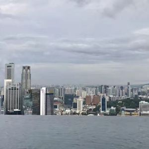 滨海湾金沙酒店无边泳池旅游景点攻略图