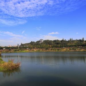 花都湖公园旅游景点攻略图