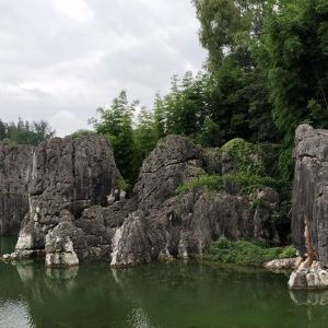 大石林景区旅游景点攻略图
