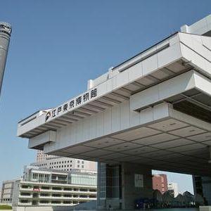 江户东京博物馆旅游景点攻略图