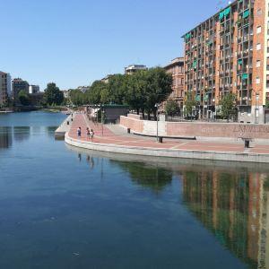 米兰运河旅游景点攻略图