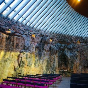 岩石教堂旅游景点攻略图
