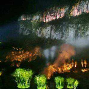 《印象武隆》实景演出旅游景点攻略图