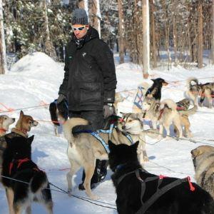 雪橇狗公园旅游景点攻略图