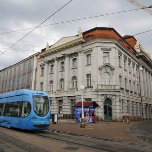 萨格勒布上城区旅游景点攻略图