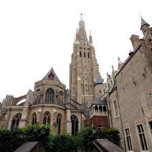 布鲁日圣母教堂旅游景点攻略图