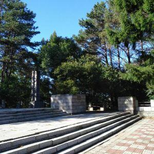 苏联海军英雄烈士纪念碑旅游景点攻略图