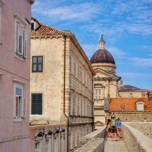 杜布罗夫尼克城墙旅游景点攻略图