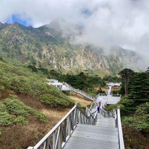 苍山中和索道旅游景点攻略图