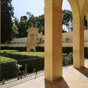 塞维利亚王宫旅游景点攻略图