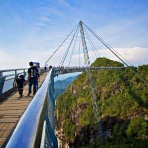 天空之桥旅游景点攻略图