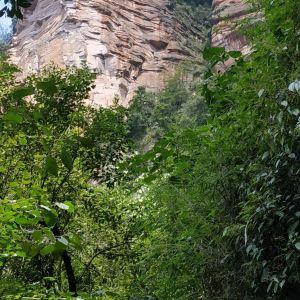 五柱峰景区旅游景点攻略图