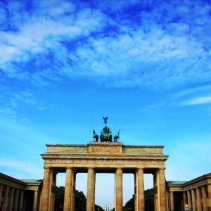 勃兰登堡门和巴黎广场旅游景点攻略图