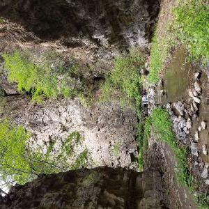 后花园(白虎涧)自然风景区旅游景点攻略图
