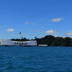 亚利桑那战列舰纪念馆旅游景点攻略图