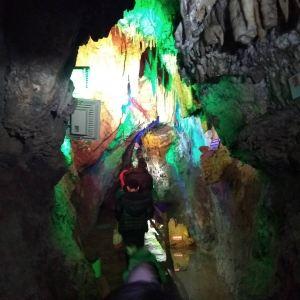 天谷·天然地下画廊旅游景点攻略图