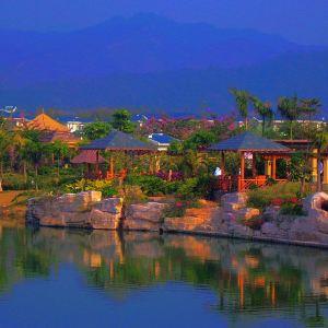 南昆山温泉大观园旅游景点攻略图