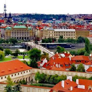 布拉格旅游景点攻略图