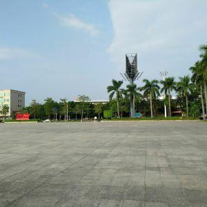 燕山湖广场旅游景点攻略图