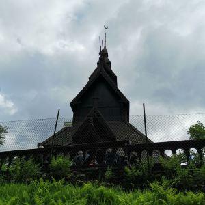 番托夫木板教堂旅游景点攻略图