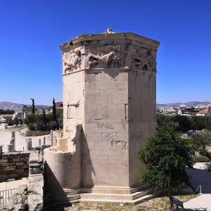 雅典古罗马市集旅游景点攻略图