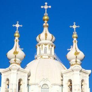 斯莫尔尼修道院旅游景点攻略图