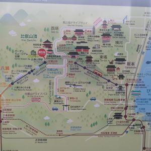 比睿山旅游景点攻略图