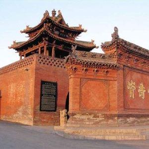 寺庙旅游景点攻略图