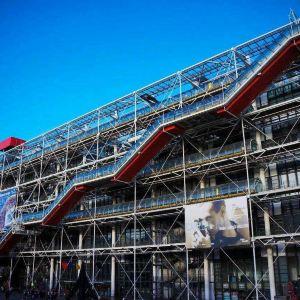 蓬皮杜国家文化艺术中心旅游景点攻略图