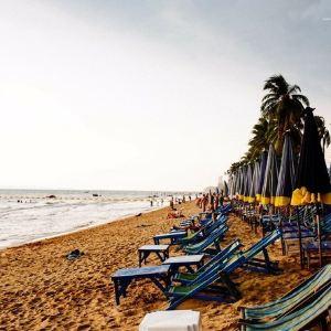 中天海滩旅游景点攻略图