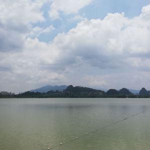 星湖旅游景区旅游景点攻略图