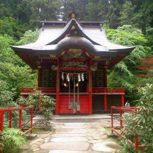 花园神社旅游景点攻略图