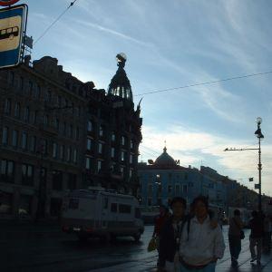 涅瓦大街旅游景点攻略图