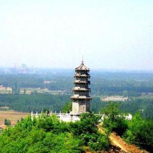 灵山长寿宝塔旅游景点攻略图
