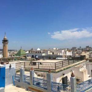 突尼斯旧城区旅游景点攻略图