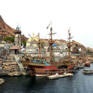 东京迪士尼海洋旅游景点攻略图