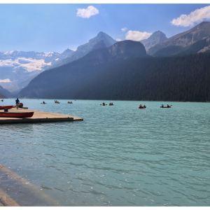 露易丝湖旅游景点攻略图