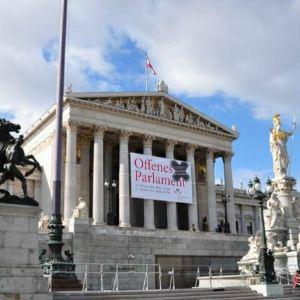 奥地利国会大厦旅游景点攻略图