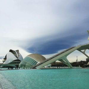 瓦伦西亚现代艺术学院旅游景点攻略图