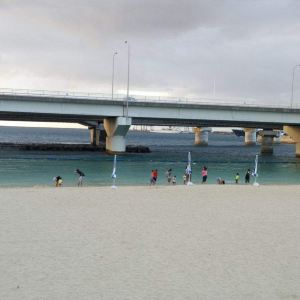 波之上海滩旅游景点攻略图