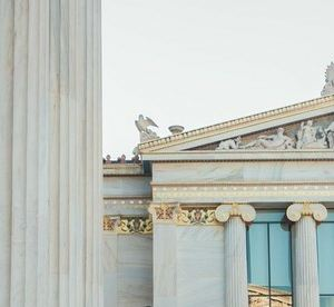 雅典科学院旅游景点攻略图