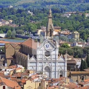圣十字大教堂旅游景点攻略图