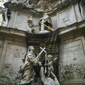 黑死病纪念柱旅游景点攻略图