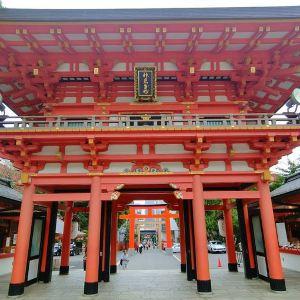 生田神社旅游景点攻略图