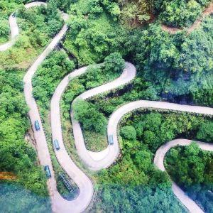 天门山通天大道旅游景点攻略图